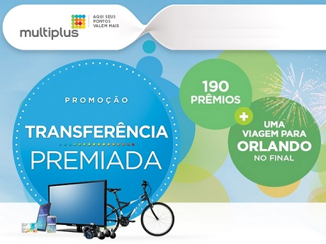 Promoção Multiplus Transferência Premiada