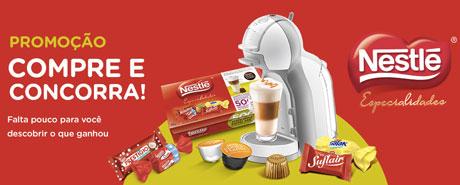 Promoção Nestlé Especialidades combina com Nescafé Dolce Gusto