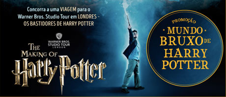 Promoção Saraiva Mundo Bruxo Harry Potter