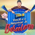 Promoção Tele Sena Você e o Neymar em Barcelona