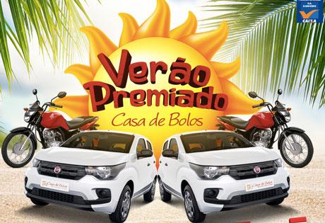 Promoção Verão Premiado Casa de Bolos