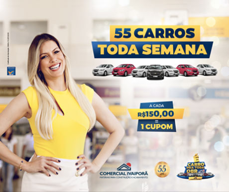 Promoção Comercial Ivaiporã É Carro pra Toda Obra
