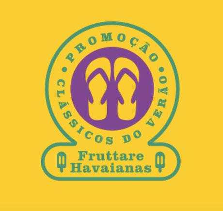 Promoção Havaianas e Fruttare Clássicos do Verão