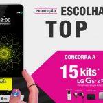 Promoção LG Escolha Top