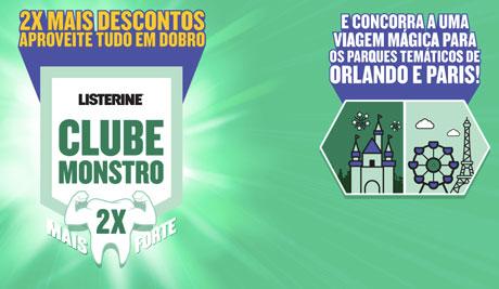 Promoção Listerine Clube Monstro