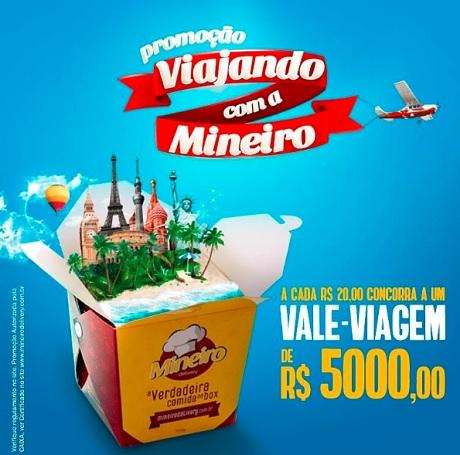 Promoção Viajando Com O Mineiro Delivery