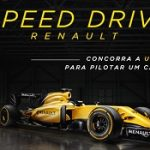 Promoção Renault Speed Drive