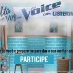 Promoção Solta essa voz no The Voice com Listerine
