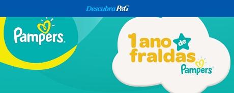 Promoção P&G Um Ano de Fraldas Pampers
