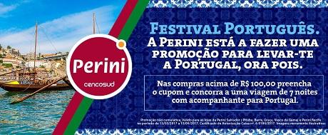 Promoção Lojas Perini Festival Português