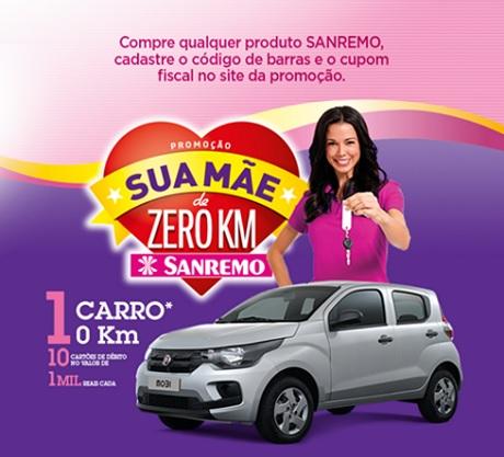 Promoção Sanremo Sua Mãe de zero Km
