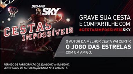 Promoção Cestas Impossíveis Sky