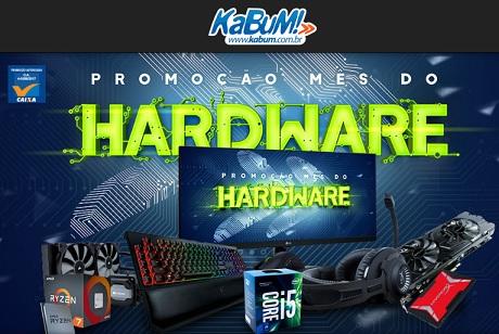 Promoção Kabum Mês do Hardware