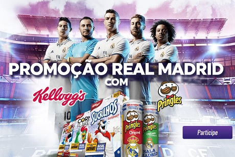 Promoção Real Madrid com Kellogg's e Pringles