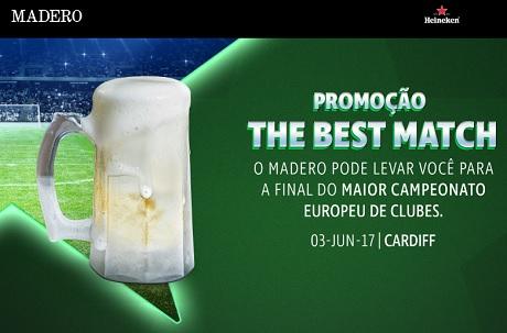 Promoção Madero The Best Match