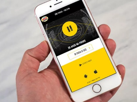 Promoção Ouça a Mix e ganhe um iPhone 7