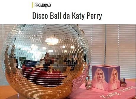 Promoção Mix FM Disco Ball Katy Perry