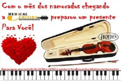Promoção Dia dos Namorados Musical Curitiba