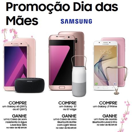 Promoção Samsung Dia das Mães