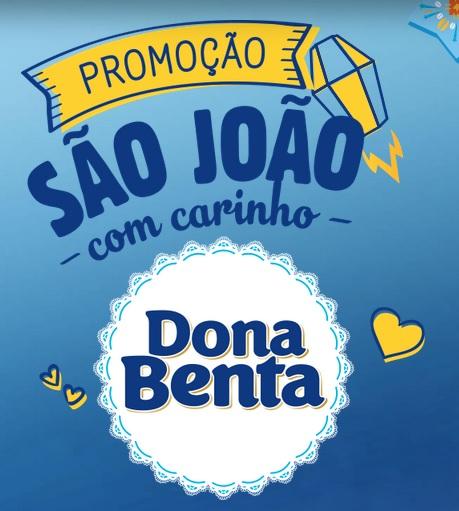 Promoção Dona Benta São João com Carinho