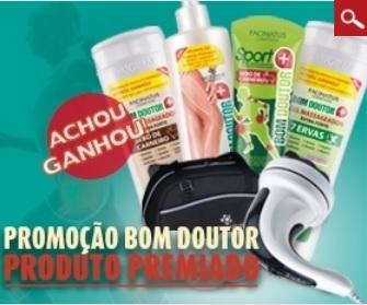 Promoção Facinatus Bom Doutor Produto Premiado