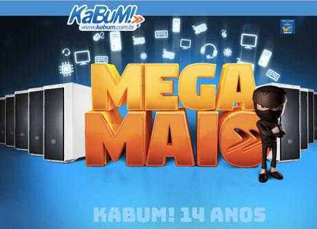 Promoção Kabum Mega Maio