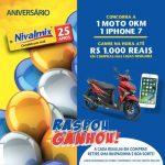 Promoção Nivalmix Raspou Ganhou