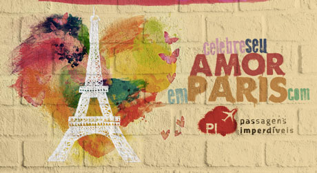 Concurso Celebre seu amor em Paris com o Passagens Imperdíveis