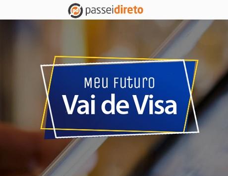 Promoção Passei Direto Meu Futuro Vai de Visa