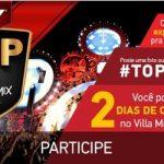 Promoção Sky O Top do Villa Mix