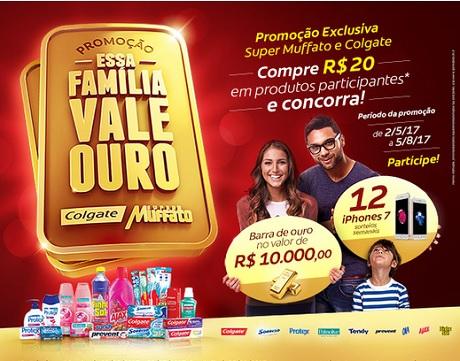 Promoção Super Muffato Essa Familia Vale Ouro