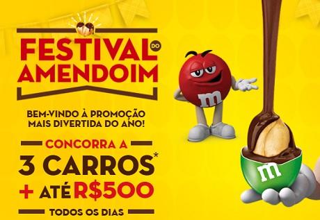 Promoção M&M's, Snickers e Twix Festival do Amendoim