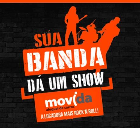 Promoção Movida Sua Banda Dá Um Show