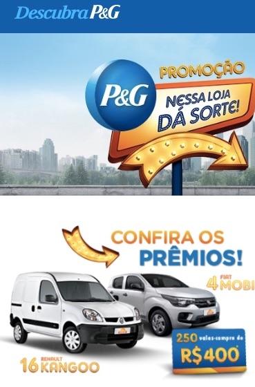 Promoção P&G Nessa Loja Dá Sorte