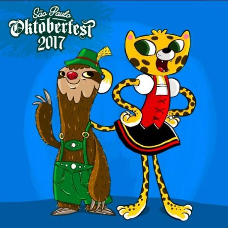 Concurso Cultural Mascotes São Paulo Oktoberfest 2017