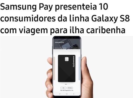 Promoção Viaje para Curaçao com Samsung Pay e Copa Airlines
