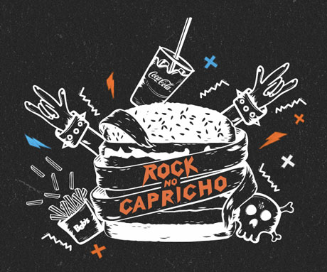 Promoção Bob's e Coca-Cola Rock no Capricho