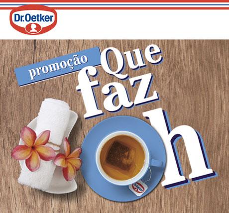 Promoção Dr. Oetker Que faz Oh