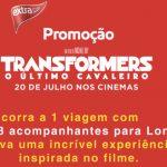 Promoção Transformers O Último Cavaleiro