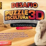Concurso Cultural Desafio Puzzle Escultura 3D