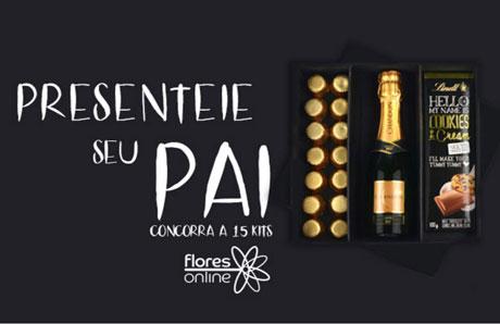 Promoção Antena 1 e Flores OnlinePresenteie seu pai com um super kit