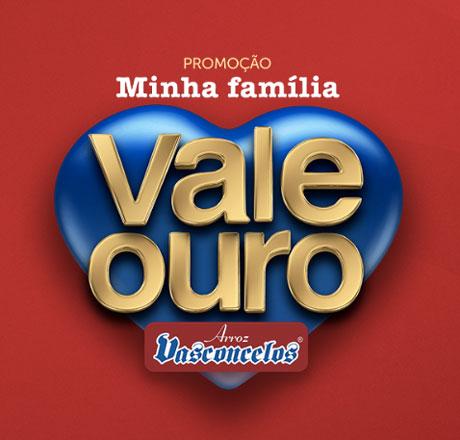 Promoção Minha Família Vale Ouro Arroz Vasconcelos