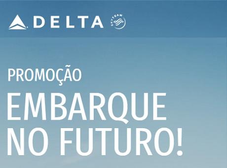 Promoção Delta Air Lines Embarque no Futuro