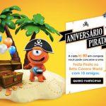 Promoção PBKids Aniversário Pirata