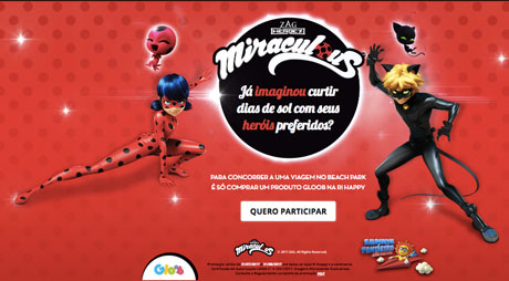Promoção Ri Happy Aventuras Miraculous