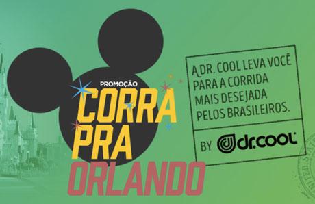 Promoção Dr. Cool Corra Pra Orlando