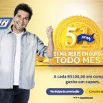 Promoção Gazin 51 Anos 51 Mil Reais em Ouro Todo Mês