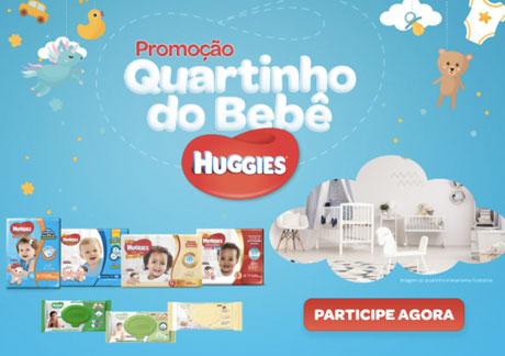 Promoção Quartinho do Bebê Huggies