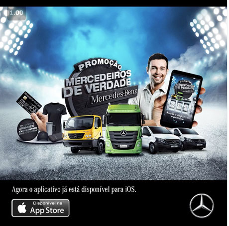 Promoção Mercedes-Benz Mercedeiros de Verdade