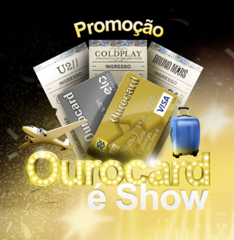 Promoção Ourocard é Show